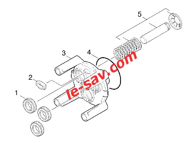 schema moteur karcher