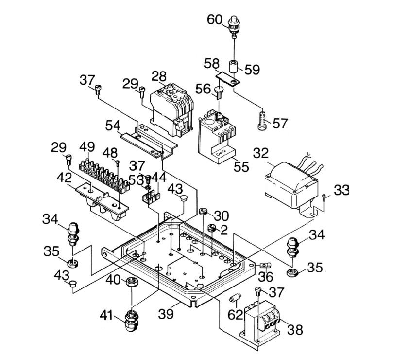 schema electrique nettoyeur haute pression eau chaude