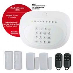 Système d'alarme sans fil RTC