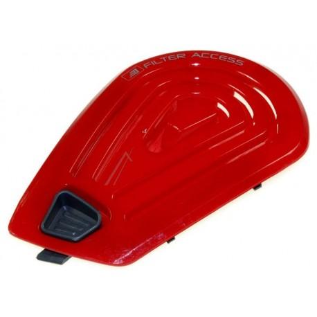 bouchon de filtre rouge pour aspirateur sans sac tmi2003 011 mistral easy parquet hoover. Black Bedroom Furniture Sets. Home Design Ideas