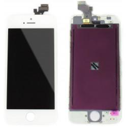 Vitre Avant et LCD pour iPhone 5S Blanc Apple
