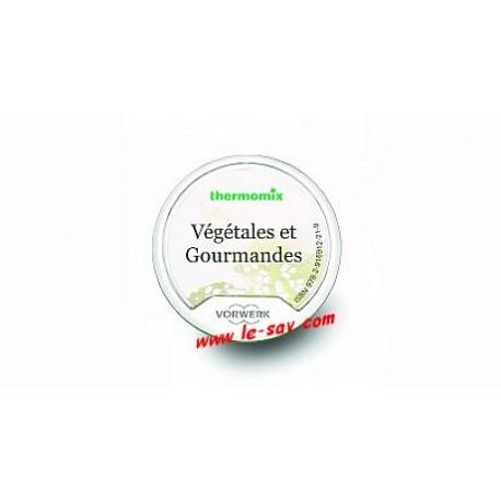 """Clé recettes """"Végétales et gourmandes"""" Vorwerk TM 5"""