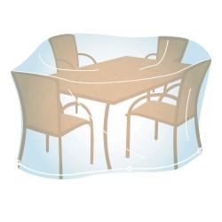 Housse de Protection Rectangulaire Taille M (100x220x110cm) pour Mobilier de Jardin Campingaz