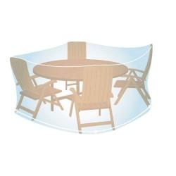 Housse de Protection Ronde Taille M (H90 x Ø 150cm) pour Mobilier de Jardin Campingaz