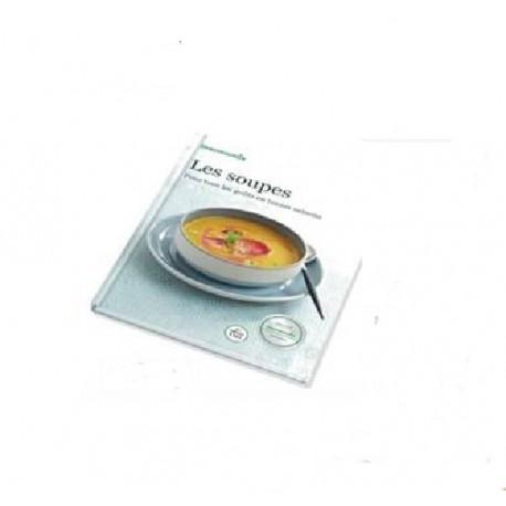 """Livre Vorwerk """" Les Soupes """" pour Thermomix TM5 Vorwerk"""