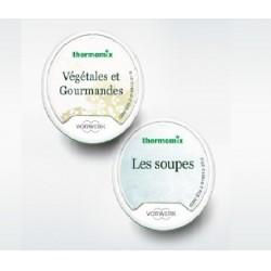 Pack Promo : Clefs Les Soupes + Végétales & Gourmandes pour Thermomix TM5 Vorwerk