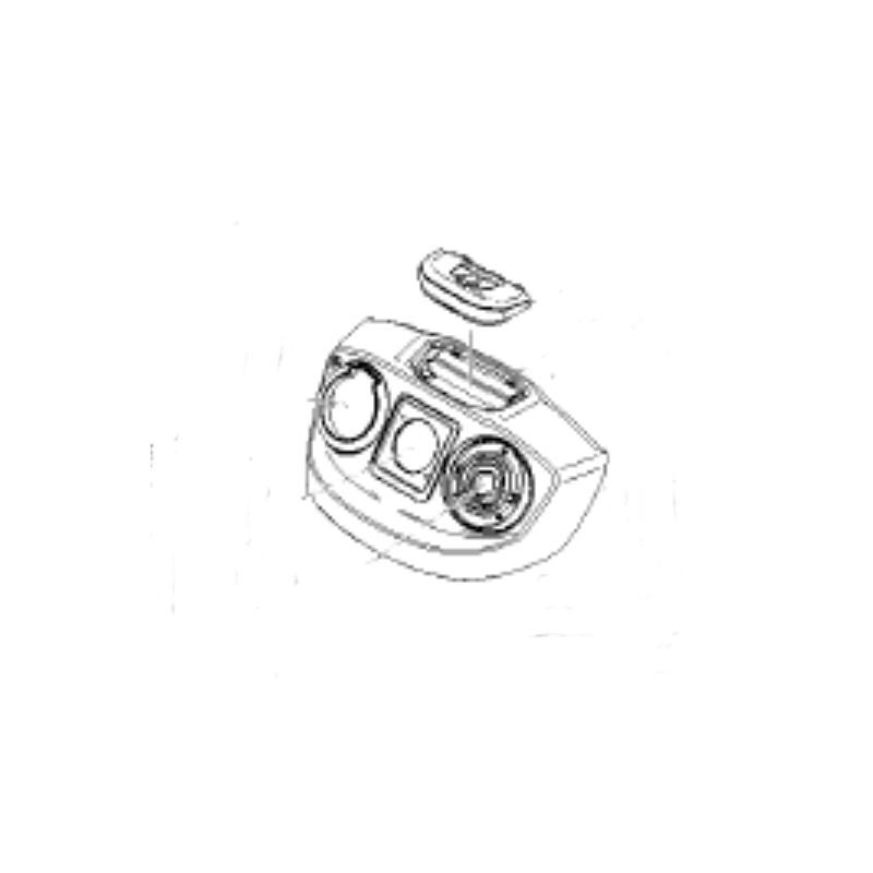 capot avant pour aspirateur eau et poussière mv6 premium karcher