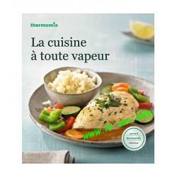 """Livre Vorwerk """"La cuisine à toute vapeur"""""""