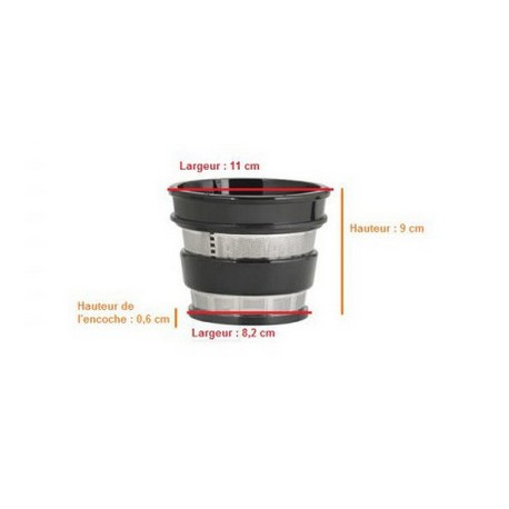 Tamis Filtre Pour Nutrijus Extracteur De Jus Pj550 Simeo Le Sav