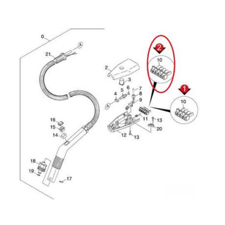 Flexible Complet pour Nettoyeur Vapeur Vaporapid Vario 1700 Kärcher -  Le-SAV com