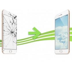 Remplacement Vitre Avant et LCD pour iPhone 6 Blanc Apple