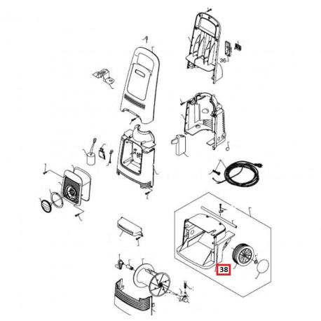 enrouleur flexible pour nettoyeur haute pression alto. Black Bedroom Furniture Sets. Home Design Ideas