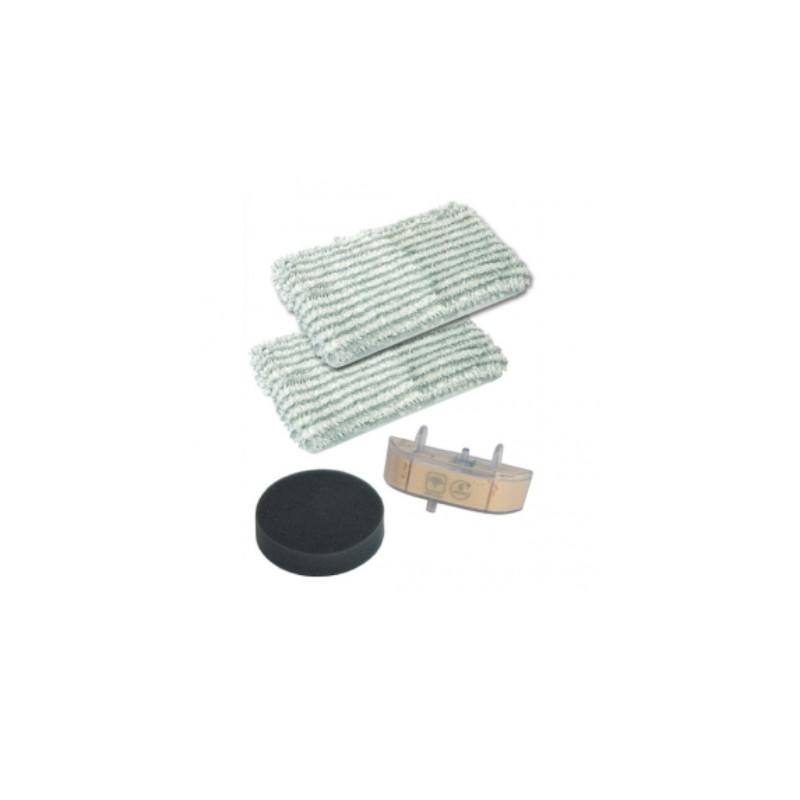 kit de remplacement lingettes x2 cassette filtre pour. Black Bedroom Furniture Sets. Home Design Ideas