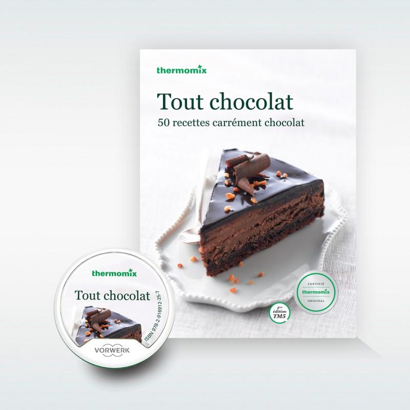 pack livre cl recettes tout chocolat pour thermomix tm5 vorwerk. Black Bedroom Furniture Sets. Home Design Ideas
