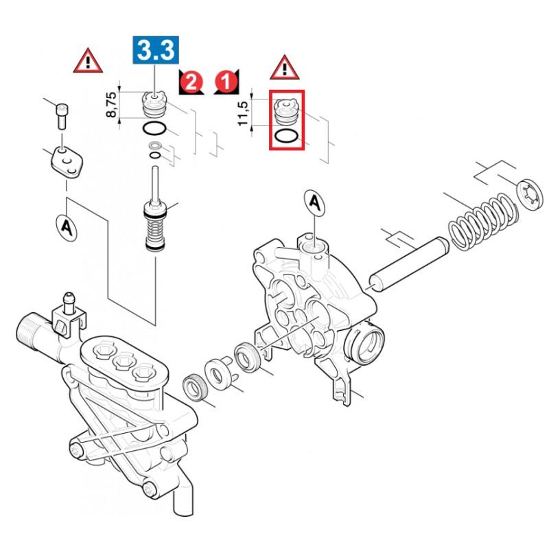 Pr forme pour nettoyeur haute pression k rcher - Comment demonter un karcher ...