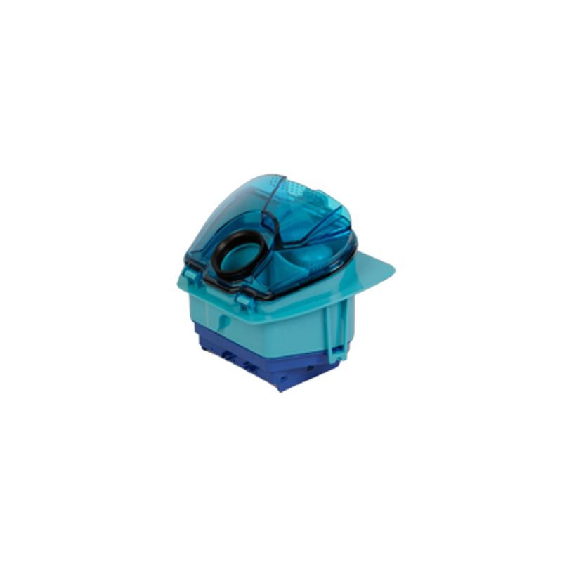 bac s parateur avec filtre hepa bleu pour aspirateur. Black Bedroom Furniture Sets. Home Design Ideas