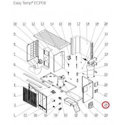 panneau droit pour pompes chaleur easy temp ecp06 hayward. Black Bedroom Furniture Sets. Home Design Ideas