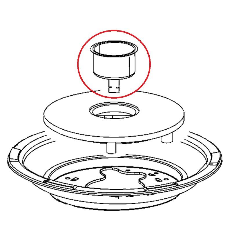 capteur de temp rature pour cuiseur riz new classic rice cooker seb. Black Bedroom Furniture Sets. Home Design Ideas