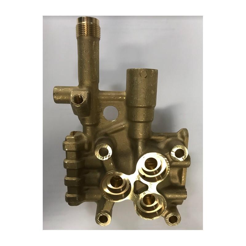 Culasse de cylindre pour nettoyeur haute pression eau for Plus de pression eau