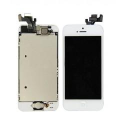 Remplacement Vitre Avant et LCD pour iPhone 5S Blanc Apple