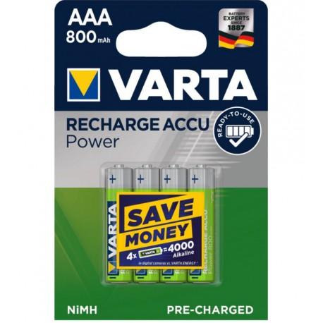 Accu Varta longlife AAA / 800mAh