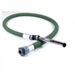 Flexible / Tuyau en Caoutchou 2m + Crosse en Acier pour Aspirateur GM80 / 80C / GS80 / GM400 Nilfisk
