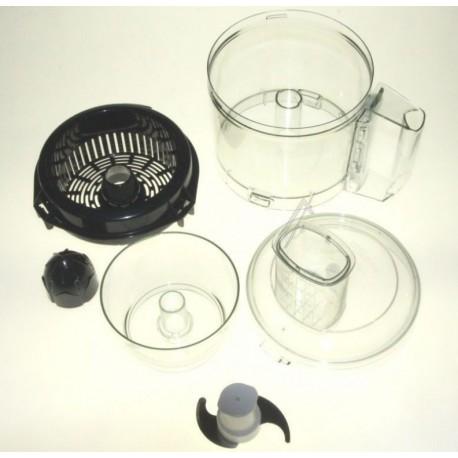 Kit bol + couvercle + cuve + mini cuve robot magimix cs5100