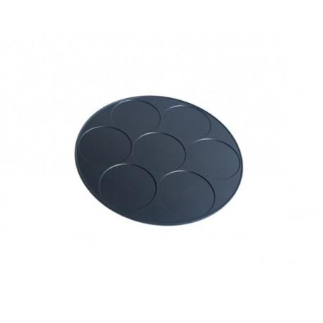 Plaque 7 Mini Crepes Diamètre 11 cm pour Crepiere Type 109 Lagrange