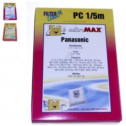 Sac Non Tissé x4 pour Aspirateur Panasonic