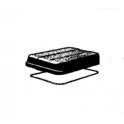 Couvercle + Joint pour Glacière Rigide Extrème 948 TL 24L Campingaz