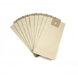 Lot de 10 Sacs - Papier 10L pour Aspirateurs GD 1010 / GDS 1010 Nilfisk