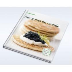 """Livre Vorwerk """"Aux goûts du monde"""""""