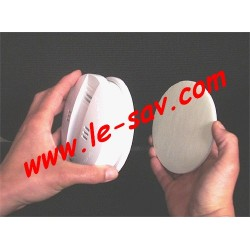Support adhésif pour détecteur de fumée