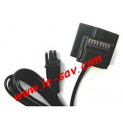 Cable écran pour Mki 9100 Parrot