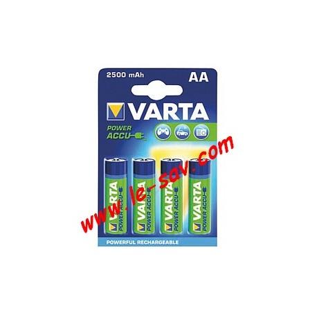 Accu Varta power AA / 2500mAh