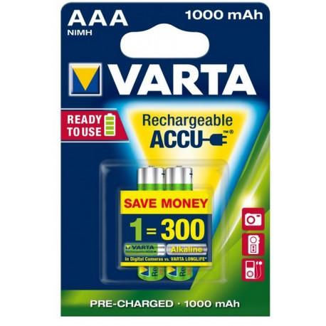 Accu Varta power AAA / 1000mAh