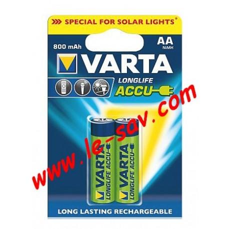 Accu Varta longlife AA / 800mAh