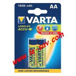 Accu Varta longlife AA / 1600mAh