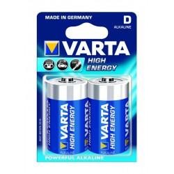 Pochette de 2 piles alcaline Varta LR20