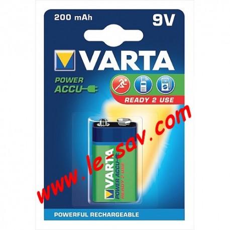 Accu Varta power 9V