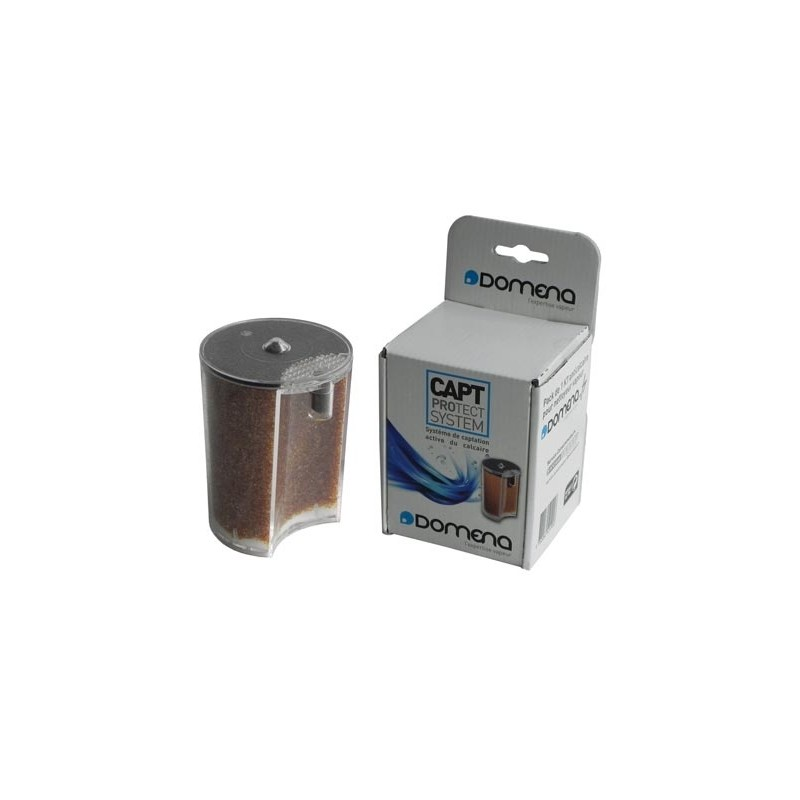 choisir véritable plus grand choix de meilleur service Pack 1 Cassette Anticalcaire pour Nettoyeur Vapeur Domena