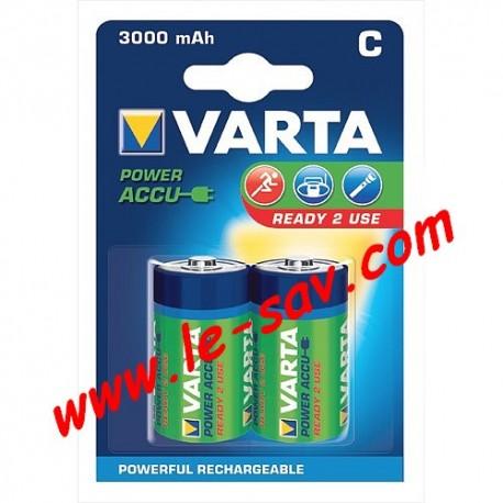 Accu Varta power C ( LR14 ) 3000mAh