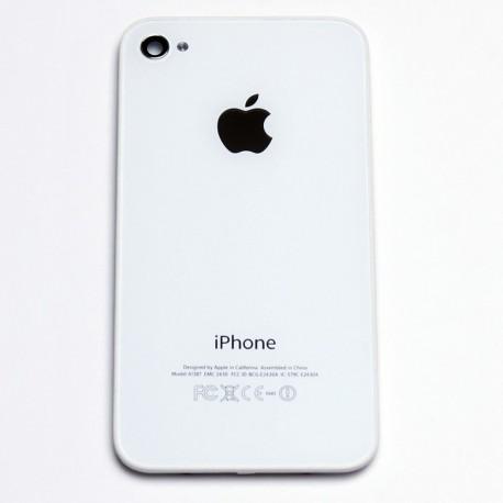 Vitre Arrière iPhone 4S Blanc - Le-SAV.com