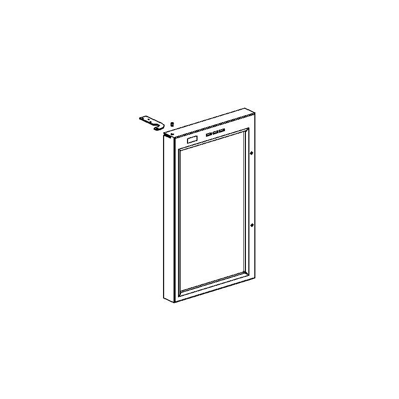 cadre de porte et faisceau pour cave vin jc10 krups le sav ventes et commande de pi ce. Black Bedroom Furniture Sets. Home Design Ideas