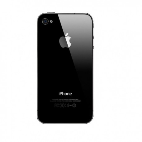 vitre arriere iphone 4 noir