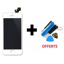 Vitre Avant + Écran LCD iPhone 4 Blanc + Outils de Montage