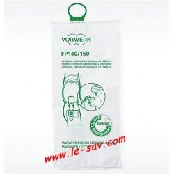 Sacs filtres aspirateur Vorwerk VK 150