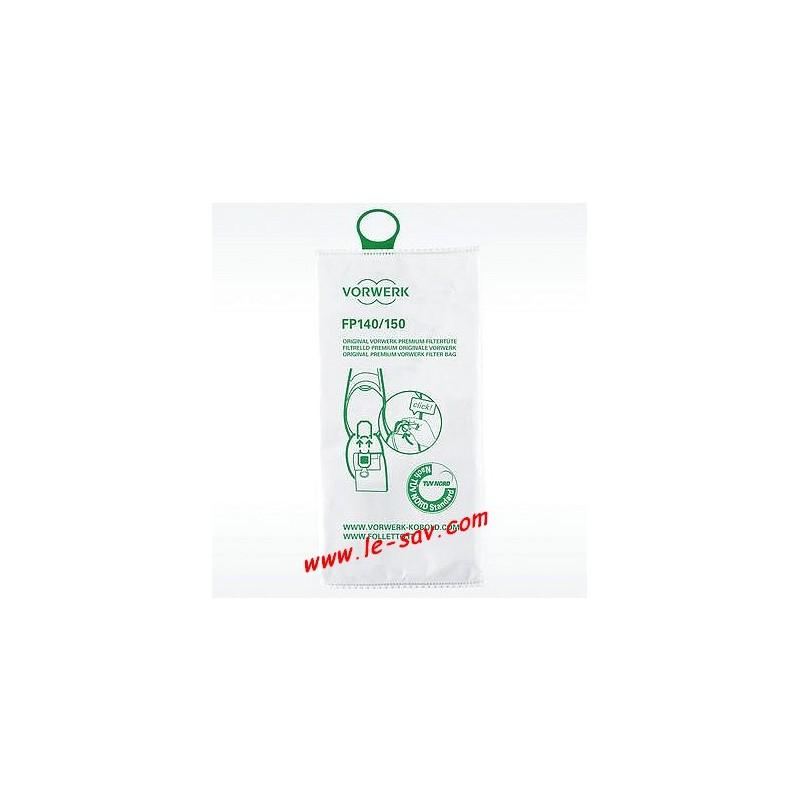 Sacs filtres aspirateur vorwerk vk 150 le sav ventes et commande de pi ce - Aspirateur vorwerk prix ...