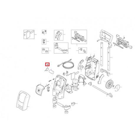 attache cable pour nettoyeur haute pression nilfisk le sav ventes et commande de pi ce pour. Black Bedroom Furniture Sets. Home Design Ideas