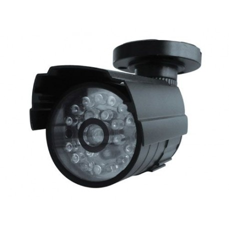 Caméra Factice d'Extérieur Alu Noir